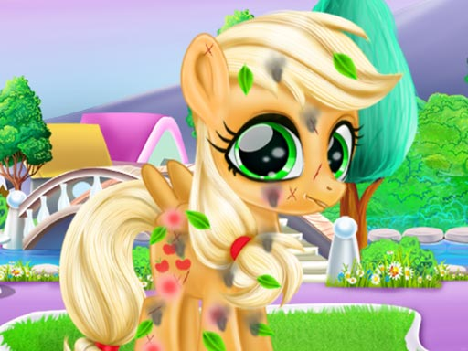 Play Cute Pony Care Game