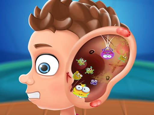 Play Ear Doctor Polyclinic Game