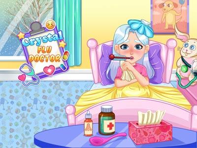 Play Crystal Flu Doctor Game