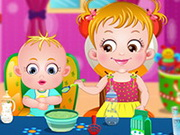 Play Baby Hazel Sibling Care Game