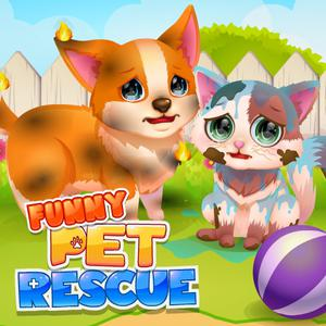 Play Funny Rescue Pet Game
