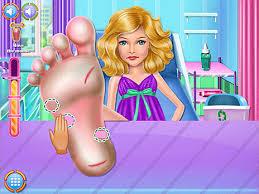 Play Aurelias Foot Injuring Game
