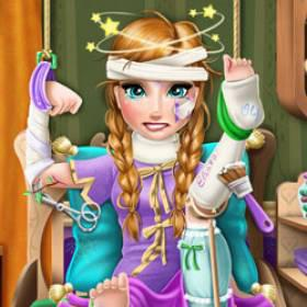 Play Ice Princess Hospital Recovery Game
