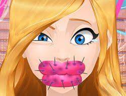 Play Cute Lips Plastic Surgery Game