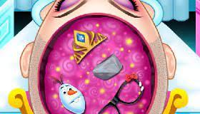 Play Elsa Frozen Brain Surgery Game