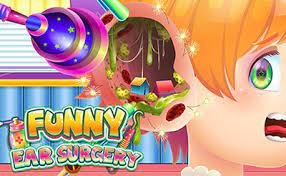 Play Funny Ear Surgery Game