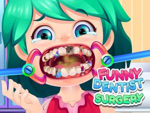 Play Funny Dentist Surgery Game