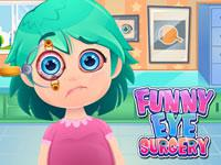 Play Funny Eye Surgery Game