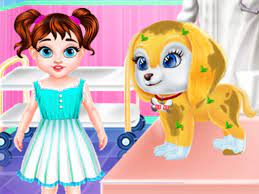 Play Baby Taylor Puppy Care Game