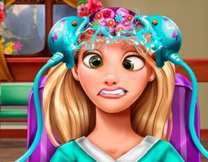 Play Rapunzel Brain Doctor Game