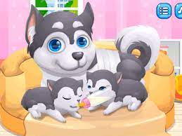 Play Cute Puppy Pregnant Game