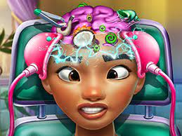 Play Exotic Princess Brain Doctor Game
