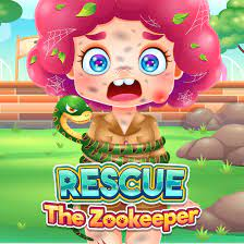 Play Funny Rescue Zookeeper Game