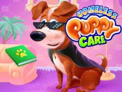 Play Homeless Puppy Care Game