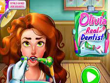 Play Olivia Real Dentist Game