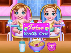 Play Twins Health Care Game