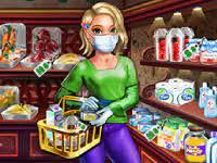 Play Maria Coronavirus Shopping Game